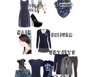 deathly hallows, dress, and harry potter image