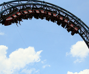 adrenaline, fun, and rollercoaster image