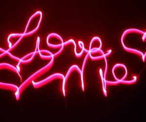 light, light paint, and love me image