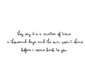 Lyrics, missing you, and quote image