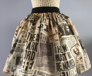 fashion, harry potter, and skirt image