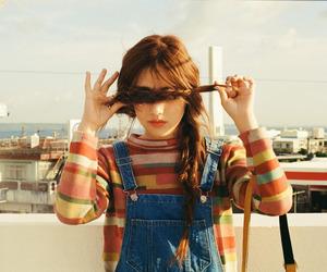 girl, kisum, and hair image