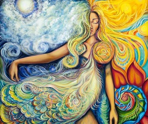 nature, universe, and love yourself image