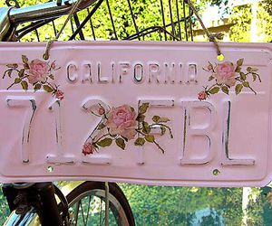 pink, vintage, and california image