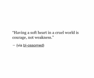 courage, soft, and text image