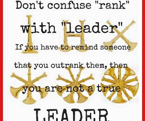 teamwork, think before you speak, and be a leader image