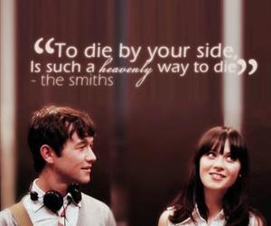 500 Days of Summer, the smiths, and quote image
