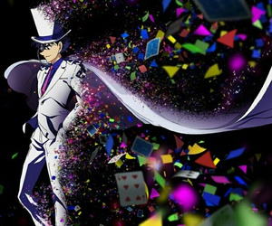 anime, cards, and magician image