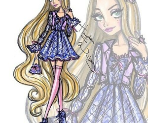 rapunzel, hayden williams, and disney image