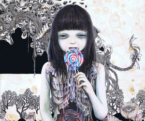 candy, lollipop, and sweet image