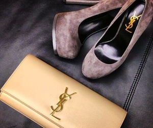 YSL, shoes, and heels image