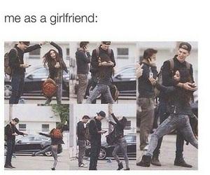 girlfriend, boyfriend, and couple image