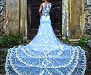 I love it, it, and white lace image
