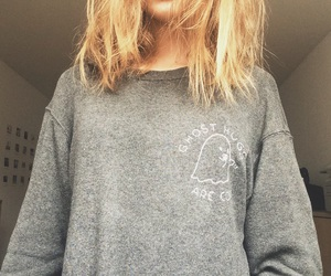 ghost, grey, and pull and bear image