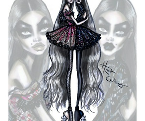 hayden williams, illustration, and ghoulish twins image