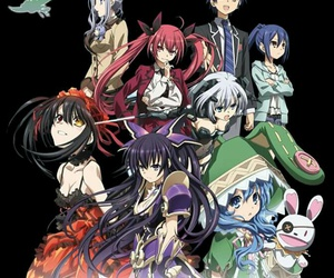 anime, date a live, and art image