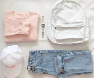 clothes, outfit, and pastel image