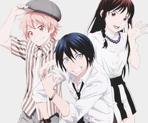 noragami, yato, and yukine image