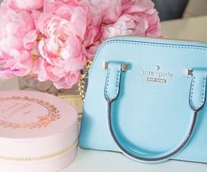 bag, pastels, and pink image