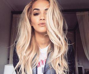 rita ora, hair, and blonde image