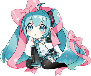 chibi, kawaii, and vocaloid image