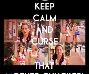 gossip girl and keep calm image