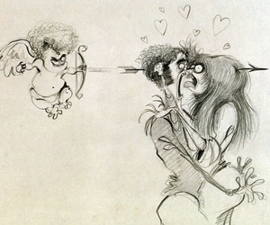 love, tim burton, and cupid image