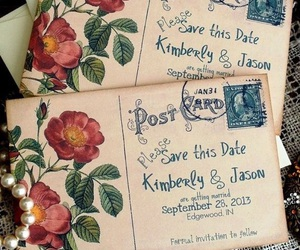vintage and wedding image
