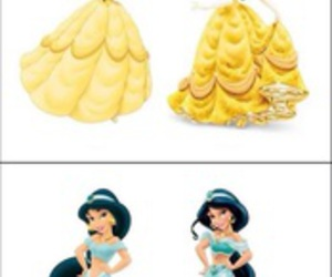 disney, princesses, and funny image