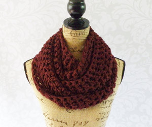 scarf, accessories, and infinityscarf image