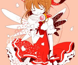 sakura card captor, cardcaptor sakura, and anime girl image