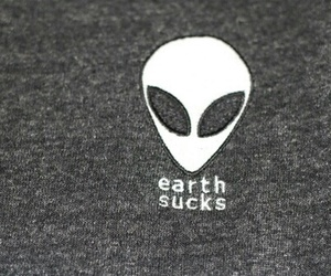 alien, earth, and grunge image
