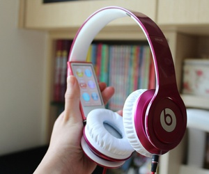 beats, music, and headphones image