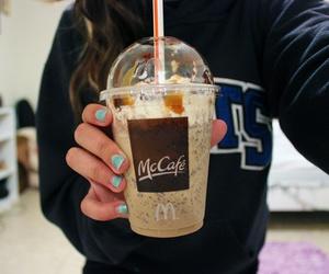 mccafe, drink, and McDonalds image