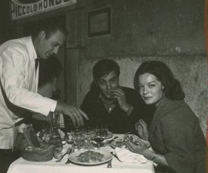 60s, Alain Delon, and Romy Schneider image