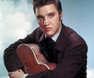 Elvis Presley and 50s image