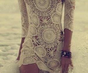 dress, beach, and summer image