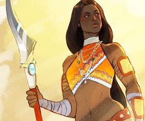 fantasy, warrior, and women image