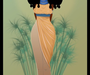 Afro, black, and egypt image