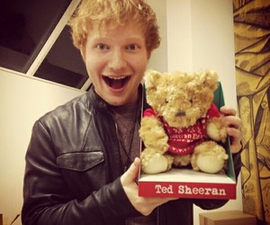 ed sheeran, teddy, and ted sheeran image