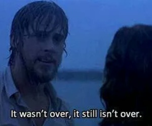 love, the notebook, and notebook image