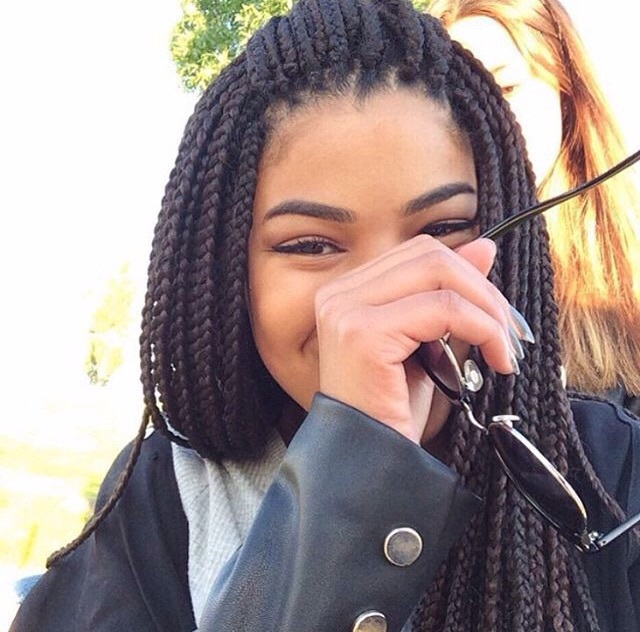 box, braids, and eyebrows image