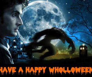 doctor who, Halloween, and wholloween image
