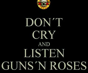Guns N Roses, gn'r, and don't cry image