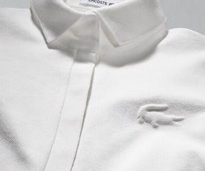 lacoste, white, and fashion image