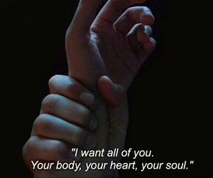 hands, heart, and i want you image