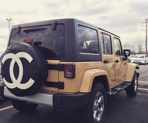 car, chanel, and jeep image