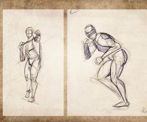fight, human, and anatomy image