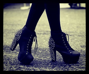shoes, beautiful, and black image