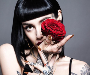 rose, hannah, and tattoo image